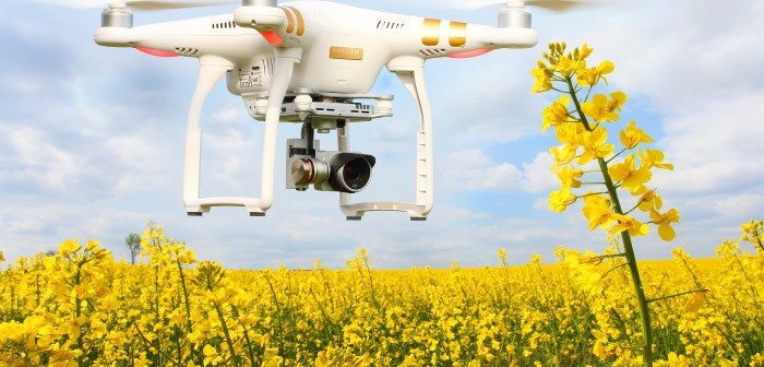 skymatics drones analyze crop loss