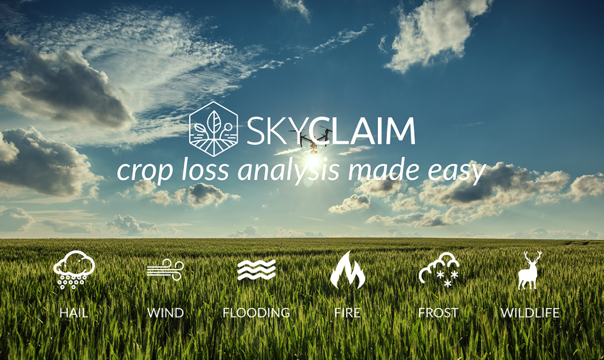 skyclaim crop loss analysis made easy