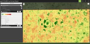 skyclaim greenness index ndvi is not good for flowering canola